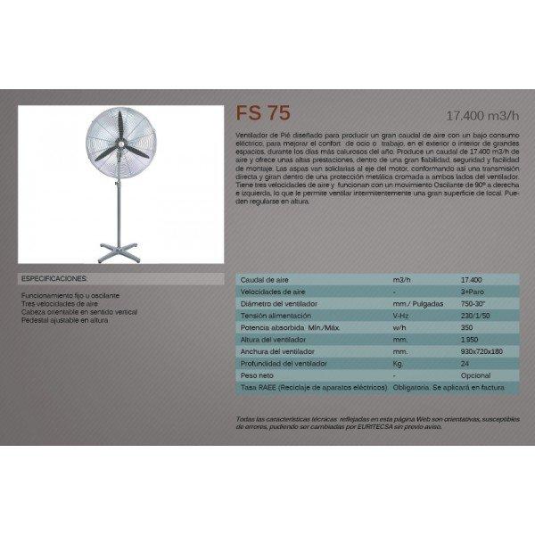 Ventilador de pie maquinal alquiler y venta de maquinaria - Ventiladores de agua ...